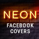 Neon Facebook Covers
