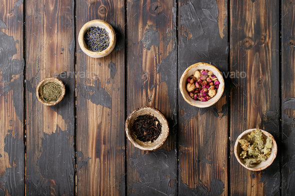 Black tea in a ceramic cup - Stock Photo - Images