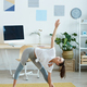 Young Woman Enjoying Workout at Home - PhotoDune Item for Sale