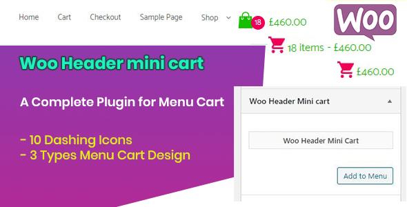 Download Woo Header Mini Cart Free Nulled