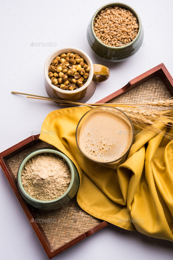 Sattu sharbat, shorbot, serbat - Stock Photo - Images