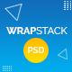 WrapStack – Multipurpose Landing Page PSD Templates