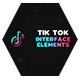 Tik Tok Interface Elements - VideoHive Item for Sale
