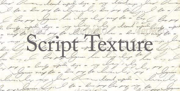 Script Texture - Abstract Textures