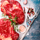 Raw Fresh Marbled Meat Beef Steak.ngredients for Cooking - PhotoDune Item for Sale