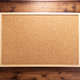 cork board on wooden background - PhotoDune Item for Sale