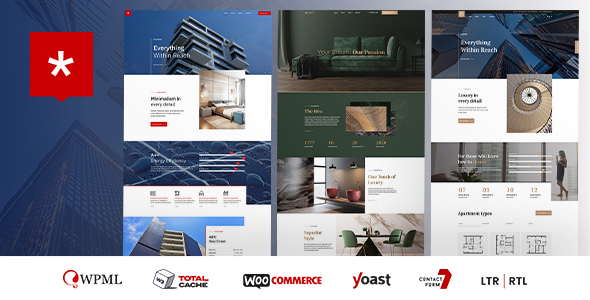 Download Nestin – Real Estate WordPress Theme Free Nulled