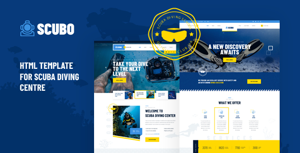 Good Scubo - HTML Template For Scuba Diving Centre