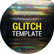 Glitch Dissolve Logos Transitions Reveal - VideoHive Item for Sale