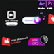 Youtube Modern Subscribe Elements - VideoHive Item for Sale