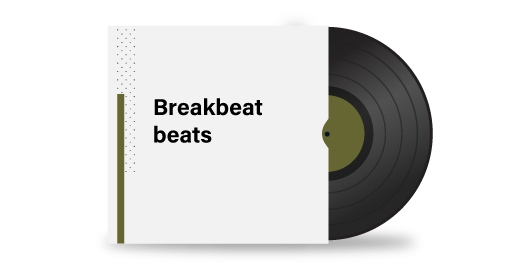 Breakbeat beats