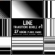 Line Transitions Bundle 1 - 4K - VideoHive Item for Sale