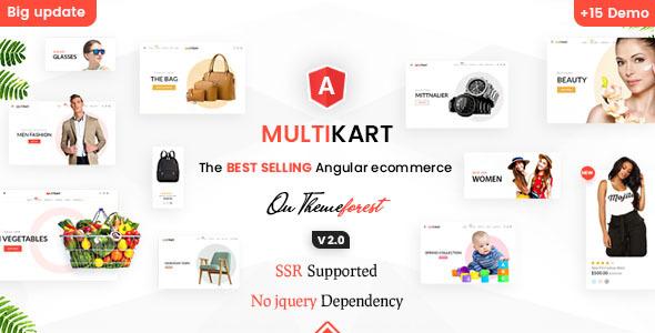Multikart - Responsive Angular 10 eCommerce Template