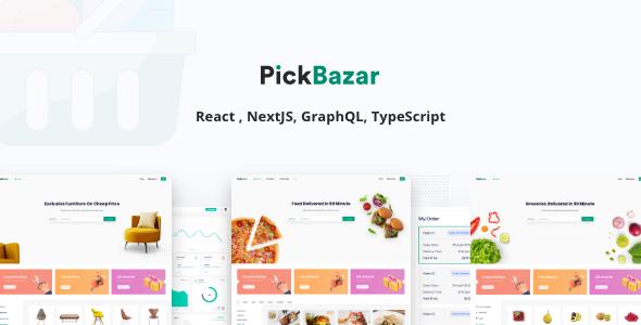 Pickbazar - React GraphQL Ecommerce Template