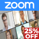 Zoom Event: Online Meeting Invitation for Group Video Chat or Conference - VideoHive Item for Sale