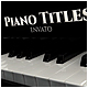 Piano Titles - VideoHive Item for Sale