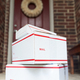 Delivery Boxes in Front of a Door - PhotoDune Item for Sale