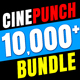 CINEPUNCH BUNDLE - 18 PACKS - Transitions I Color LUTs I Sound Packs I 10,000 FX Elements - VideoHive Item for Sale