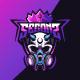 Esport Logo Skull Mask