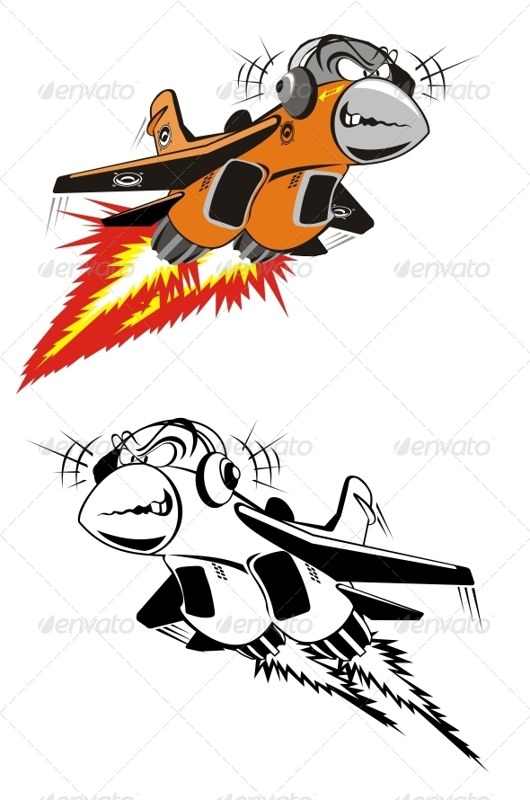 Cartoon Fighter - Characters Vectors