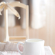 white a milk cup on table - PhotoDune Item for Sale