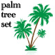 palm tree set - GraphicRiver Item for Sale