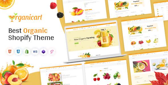 Organickart - Responsive Shopify Theme