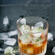 Misted glass of whiskey on the rocks - PhotoDune Item for Sale