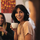 Three beautiful women drinking coffee and chatting. - PhotoDune Item for Sale