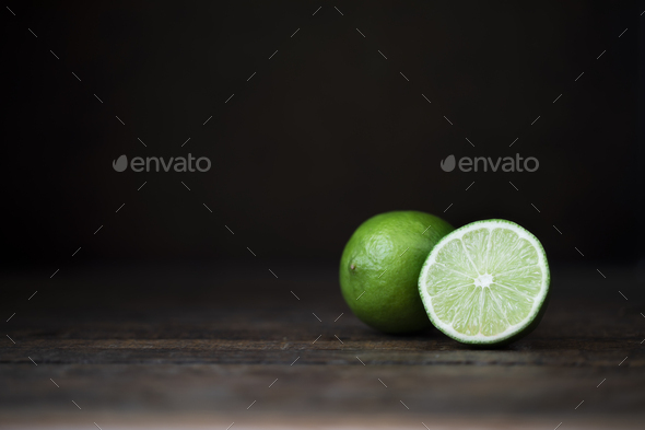 Fresh Limes Still Life - Stock Photo - Images