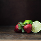 Strawberry and Lime Still Life - PhotoDune Item for Sale