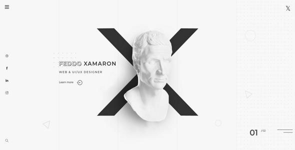 Incredible XAMARON - Creative Agency and Portfolio Bootstrap Template