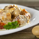 Stew made from fried chicken meat, mushrooms and sour cream - PhotoDune Item for Sale