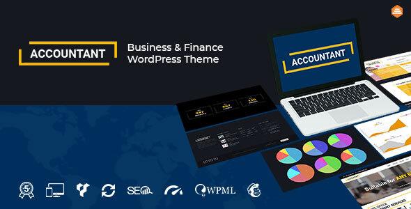Accountant — Accounting WordPress Theme