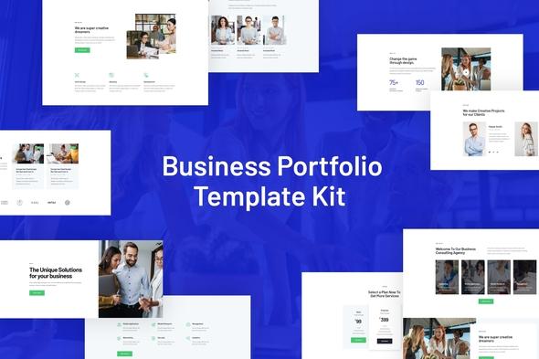 Rhodos - Business Portfolio Elementor Blocks & Template Kit