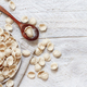 Fresh raw  italian pasta orecchiette - PhotoDune Item for Sale