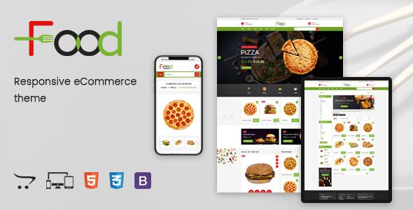 Food – Responsive OpenCart Theme