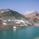 beautiful landscape with calm lake and majestic mountains in Indian Himalayas, Ladakh region - PhotoDune Item for Sale