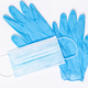 Medical face mask and protective gloves - PhotoDune Item for Sale