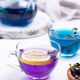Blue and purple tea Butterfly pea - PhotoDune Item for Sale