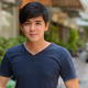 Portrait of young handsome Asian man outdoors - PhotoDune Item for Sale