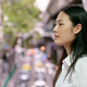 Young beautiful Asian businesswoman in the city - PhotoDune Item for Sale