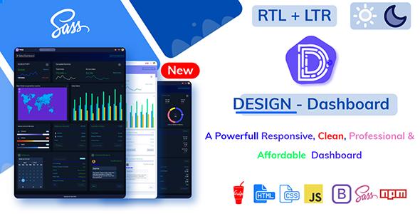 DesignLite - Bootstrap Responsive Admin Dashboard Template & Landing Pages