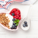 Healthy breakfast with granola, yogurt and berries - PhotoDune Item for Sale