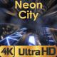 Neon Futuristic City - VideoHive Item for Sale
