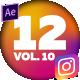12 Instagram Stories Vol. 10 - VideoHive Item for Sale