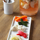 homemade pickles; celery, radish, cauliflower, cucumber and carrot - PhotoDune Item for Sale