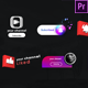 Youtube Stylish Subscribe Pack-Premiere Pro - VideoHive Item for Sale