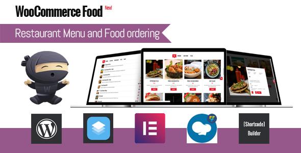 WooCommerce Food - Restaurant Menu & Food ordering Nulled