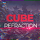 Cube Refraction - VideoHive Item for Sale